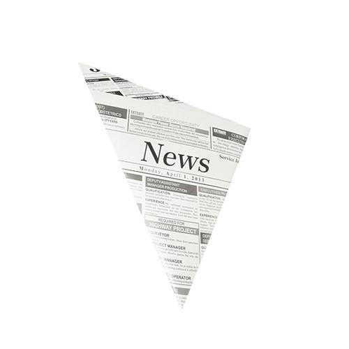"""Spitztüten aus Pergament-Ersatz """"News"""""""