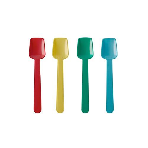Eislöffel, Eis, Einweglöffel, Löffel für Eis, Eisdiele, Eisdielenbedarf, Bio-Löffel, Farbige Eislöffel, Roter Eislöffel, Grüner Eislöffel, Gelber Eislöffel, Blauer Eislöffel