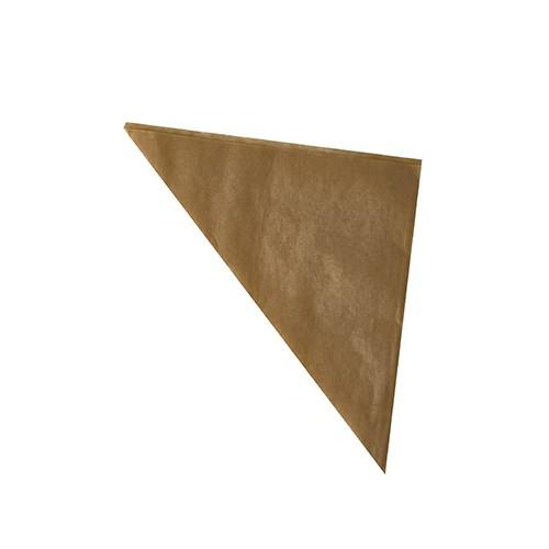Spitztüten aus Pergament-Ersatz, braun
