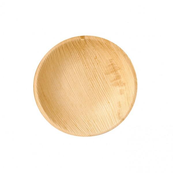 Teller aus Palmblatt, rund