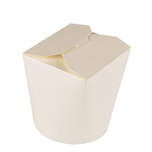 Snackboxen aus Pappe, weiss