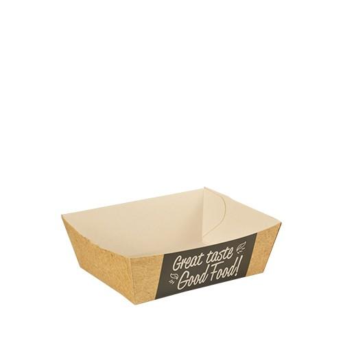"Food Trays aus Pappe ""Good Food"""