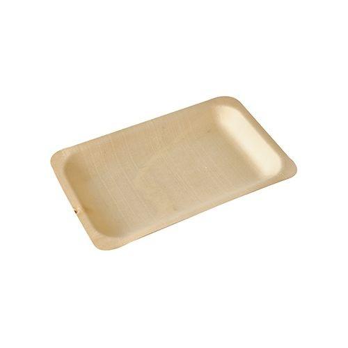 Fingerfood - Teller aus Holz, eckig