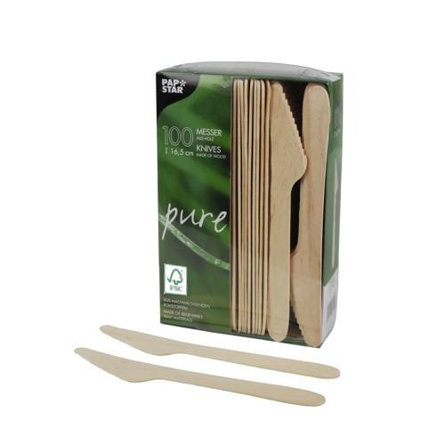 Messer aus Holz, FSC-zertifiziert