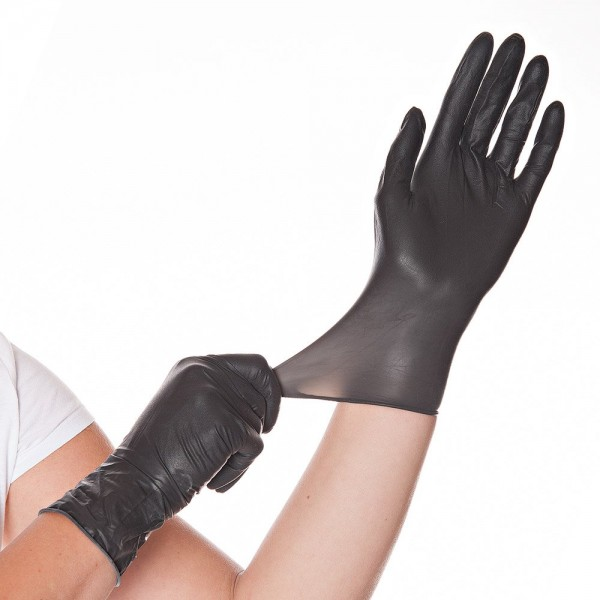 "Latex-Handschuhe ""Diablo"""