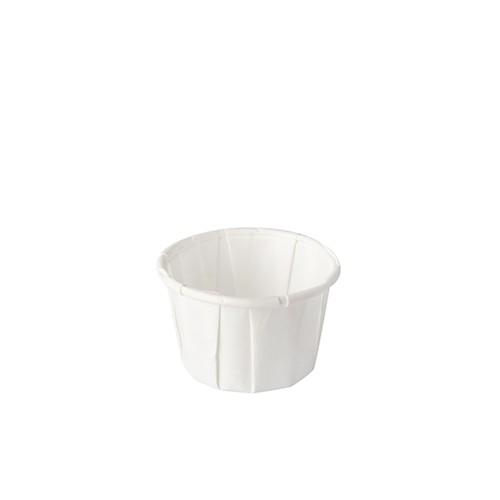 Dressingbecher aus Papier