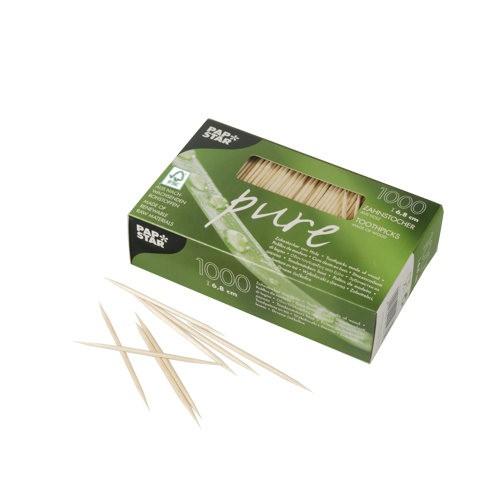 Zahnstocher aus Holz, FSC-zertifziert