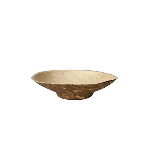 Fingerfood - Schale aus Bambus, rund 50 ml