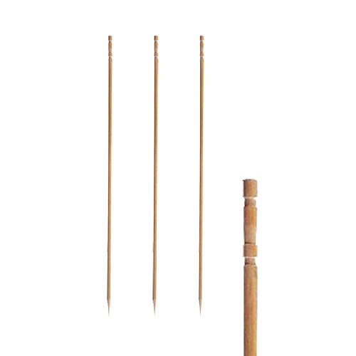 Fingerfood Spieße aus Holz, gedrechselt