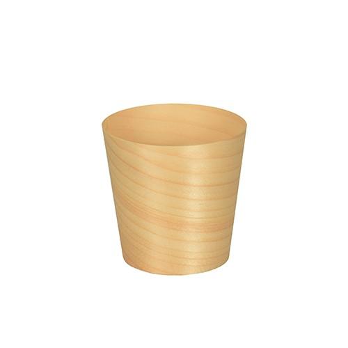 Fingerfood - Schalen aus Holz, rund