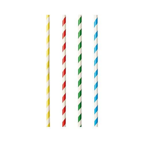 """Shakehalme aus Papier, farbig sortiert """"Stripes"""""""