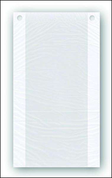 Flachbeutel (Hackfleischbeutel) transparent, geblockt