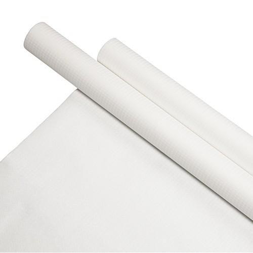 Tischdecke aus Papier, weiss
