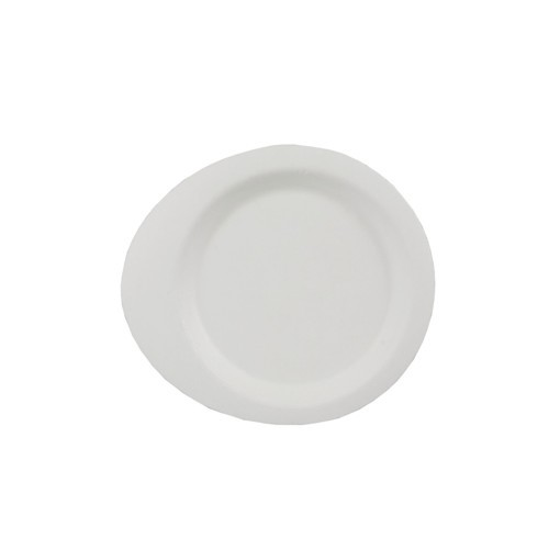 Fingerfood Teller rund, aus Zuckerrohr
