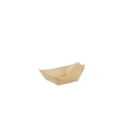 Fingerfood, Fingerfood-Schale, Schale, Einwegschale, Schiffchen, Bioschale, Holzschale, Nachhaltige Schale