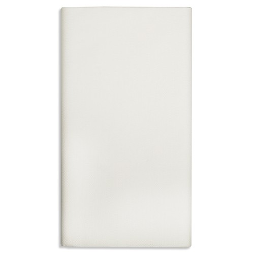 Gefaltete Tischdecke aus Papier, weiss