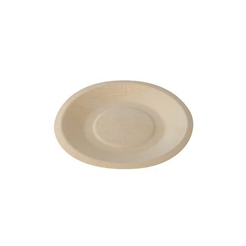 Fingerfood - Teller aus Holz, rund