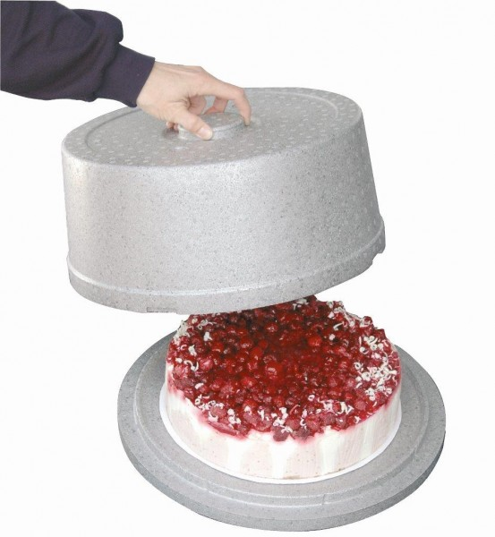 "Thermobox ""CAKE BOX"" grau"