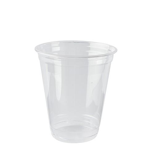 Getränkebecher aus PLA, glasklar