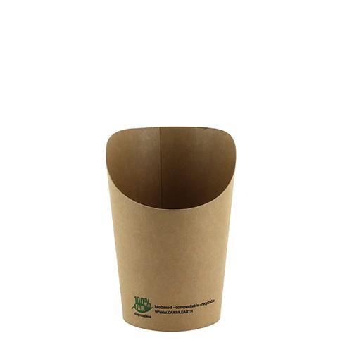 """Wrap-cup aus Pappe """"100% Fair"""""""