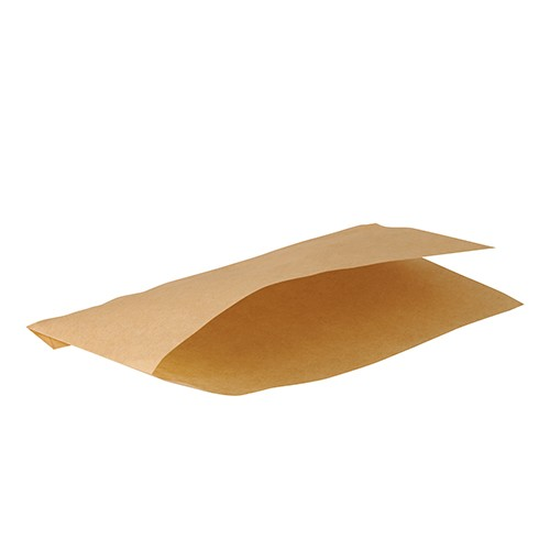 Snacktüten aus Pergament-Ersatzpapier, braun
